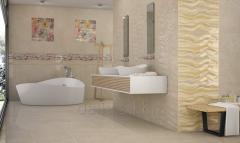 Плитка серия Fanal Royale Perla Decor для ванной