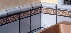 Brick tile the Gresan Paula series with drawing