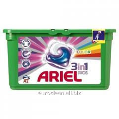 Gel capsules for washing of Ariel Pods Color 42*29
