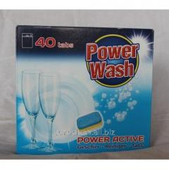 Capsules for the dishwasher of 40 pieces Power