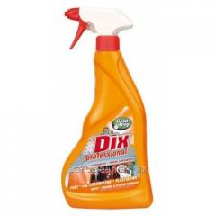 Cleaner for ceramic and plastic povekhnost of Dix