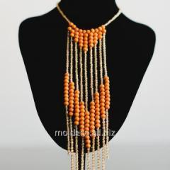 Costume jewelry of handwork of Set Colier Si