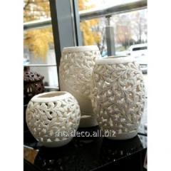 Poterie main vase