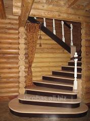 Эксклюзивные Лестницы из дерева и металла