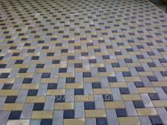 Tротуарная плитка Антик 20x10