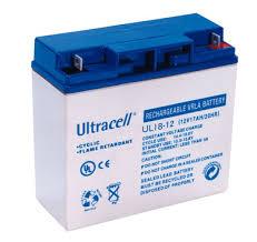 Accumulator, UL Range Ultracell ul18-12