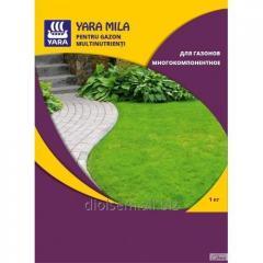 Удобрение Yara Mila для газонов многокомпонентное