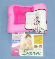 "Pillow children's orthopedic ""Sonya"