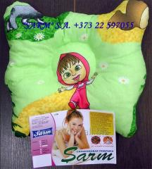 "Pillow children's orthopedic ""Fluturas"