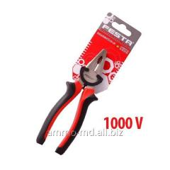 Flat-nose pliers universal 1000V 180 mm of 17002 Festa