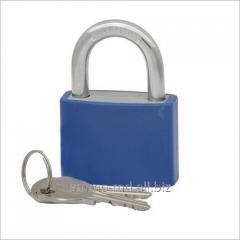 Lock of hinged 63 mm blue 23266