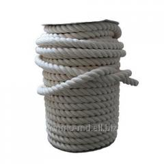 Rope of polypro-sawn Rr d-4 mm twisted