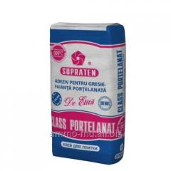 Glue for Class Portelanat tile (25 kg) of sur, Supra ten510022