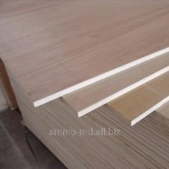 Plywood thickness of 4 mm - 1525х1525 (mm) a grade
