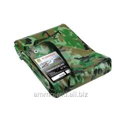 Awning protective p/et. 10h15(m) camouflage 25368