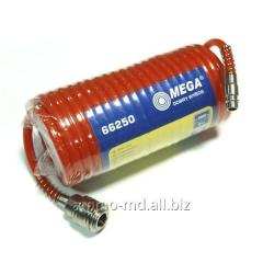 Hose of pneumatic spiral 10 m 6/8mm, ...
