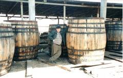 Barrels wooden