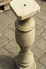 Baluster of granite stone from Koseutskogo 2