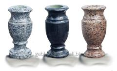 Vase granite. Height 30 cm. 850 lei.
