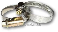 Corrosion-proof worm clamp. 9 mm 20-32 'BSW2