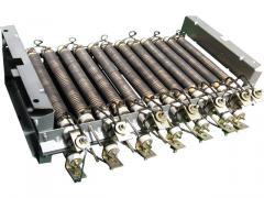 Блоки резисторов крановые типов Б6М, БК12МС, БЗ и БК6