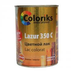 Лак цветной Lazur 350 C Coloriks 109 0.75л