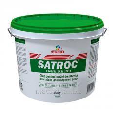 Шпаклевка для внутренних работ Satroc 25 кг