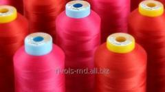 Текстурированная полиэфирная нитка для...