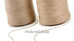 The reinforced thread with a braid from a hlop for