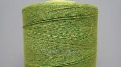 Армированная нить из полиэфирного волокна с хлопковой оболочкой, которая подходит для джинсовой одежды Coats Dual Duty Multi