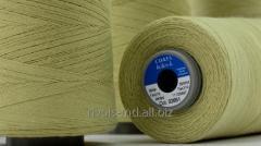 Высокопроизводительная швейная нить, изготовленная из параарамидного обмотанного стального серечника Coats Helios K
