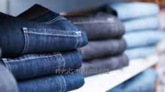 Штапельная крученая нить из полиэстера для производства джинсовой одежды Coats Astra Rugged