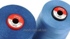 Мерсеризованные швейные нитки сделаны из 100% хлопка Coats Tre Cerchi