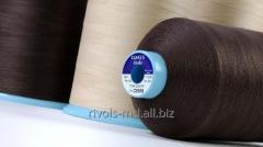 Нитка из длинноволокнистого хлопка для одежды из кожи и меха Coats Looks