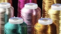 Высокотехнологичные комбинированные нитки для машинной вышивки Coats Sylko Metallic