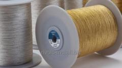 Металлизированные нитки для создания декоративных