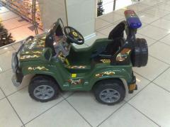 Автомобиль на аккумуляторе 2117 Джип детск
