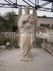 Скульптура ангел.