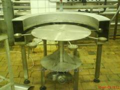 The equipment for packaging and corking of thick