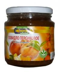 Jam peach sterilized