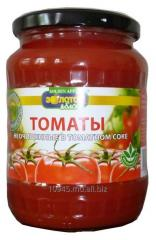 Tomatoes crude in tomato juice