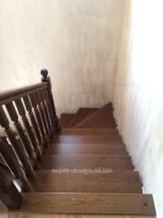 Wooden ladder of Scari aeriene look 1