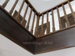 Wooden ladder of Scari aeriene look 65