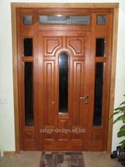 Wooden doors of Usi de interior look 101
