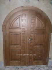 Деревянные двери Usi de interior вид 109