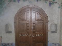 Деревянные двери Usi de interior вид 111