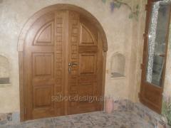 Wooden doors of Usi de interior look 114