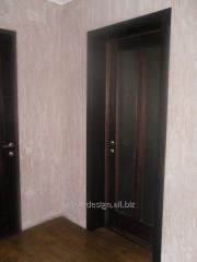 Cadres de portes en bois
