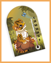 Zoo World thermometer