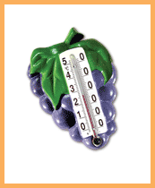 Grapes thermometer